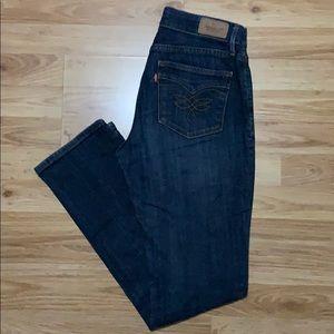 Levi's Perfect Waist 525 Straight Leg